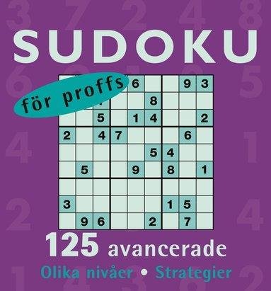 bokomslag Sudoku för proffs
