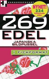 bokomslag 269 edel : japanska bildpussel i fickformat