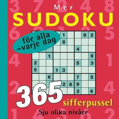 bokomslag Mer sudoku för alla : för alla varje dag