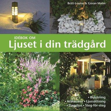 bokomslag Idébok om ljuset i din trädgård