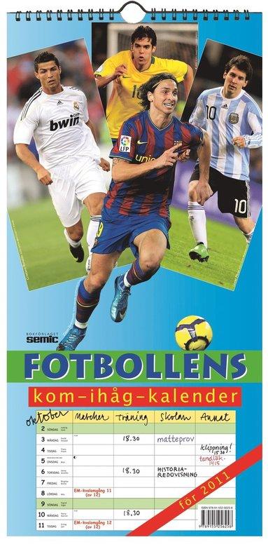 bokomslag Fotbollens kom-ihåg-kalender 2011