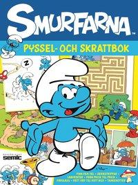 bokomslag Smurfarna - Pyssel- och skrattbok: finn fem fel - från prick till prick - genom labyrinten - seriestrippar - rätt ord till rätt bild