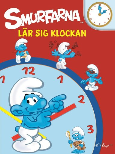 bokomslag Smurfarna lär sig klockan