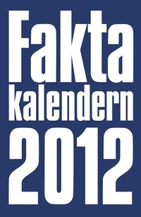 bokomslag Faktakalendern 2012