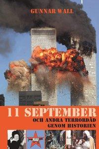 bokomslag 11 september och andra terrordåd genom historien