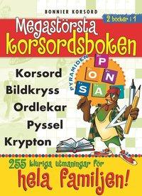 bokomslag Megastörsta korsordsboken