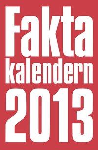bokomslag Faktakalendern 2013