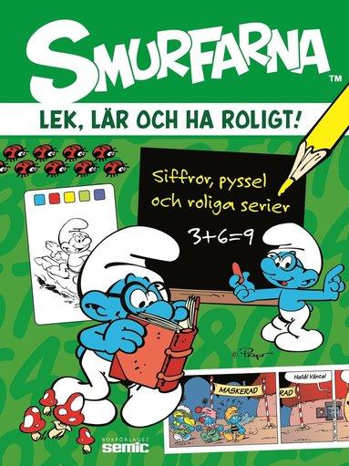 bokomslag Smurfarna - Lek, lär och ha roligt!