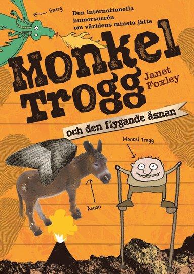 bokomslag Monkel Trogg och den flygande åsnan