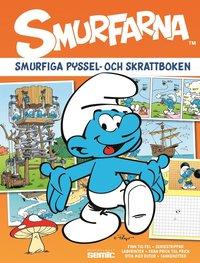 bokomslag Smurfarna : smurfiga pyssel- och skrattboken