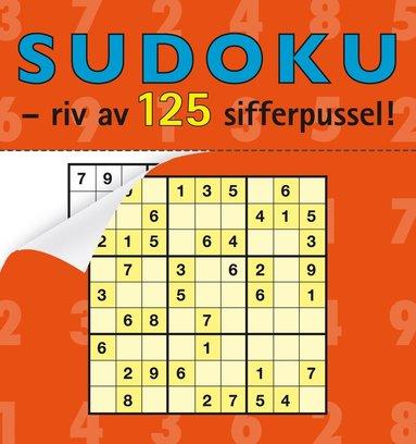 bokomslag Sudoku : riv av 125 sifferpussel!