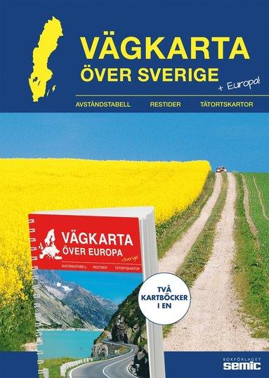 bokomslag Vägkarta över Sverige / Europa