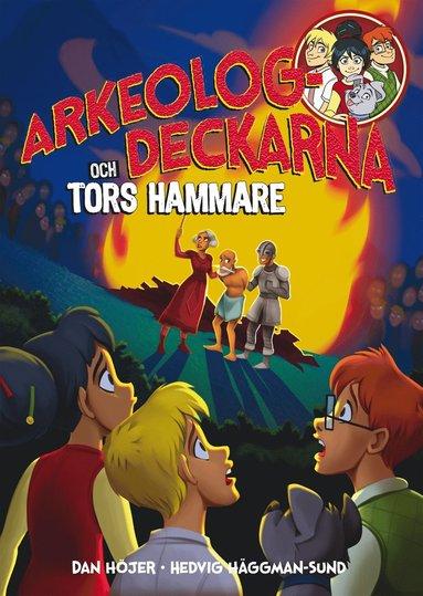 bokomslag Arkeologdeckarna och Tors hammare