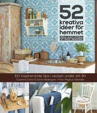 bokomslag 52 kreativa idéer för hemmet