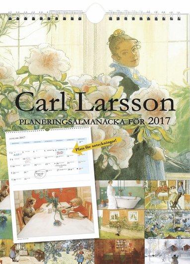 bokomslag Carl Larsson planeringsalmanacka 2017