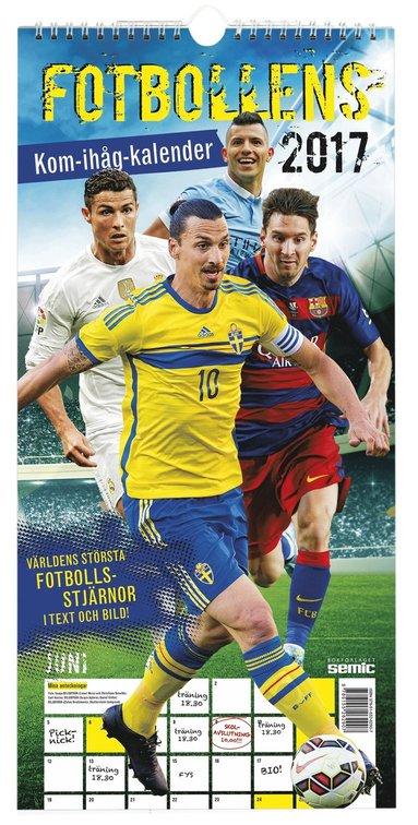 bokomslag Fotbollens kom-ihåg-kalender 2017
