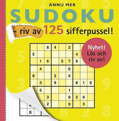 bokomslag Ännu mer sudoku - riv av 125 sifferpussel!