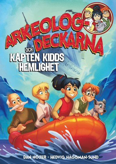 bokomslag Arkeologdeckarna och Kapten Kidds hemlighet