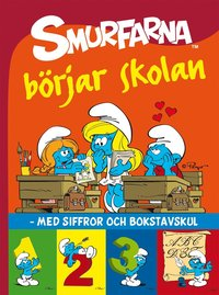 bokomslag Smurfarna börjar skolan : med siffror och bokstavskul
