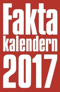 bokomslag Faktakalendern 2017