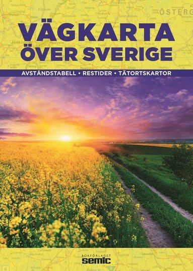 bokomslag Vägkarta över Sverige