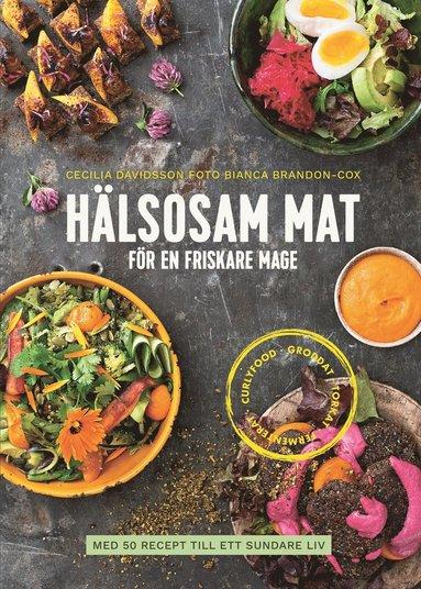 bokomslag Hälsosam mat för en friskare mage : med 50 recept till ett sundare liv