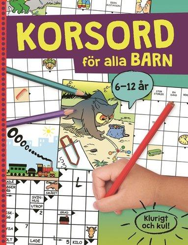 bokomslag Korsord för alla barn