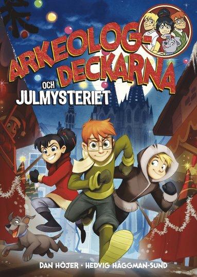 bokomslag Arkeologdeckarna och julmysteriet
