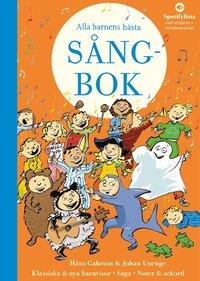 bokomslag Alla barnens bästa sångbok