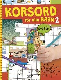 bokomslag Korsord för alla barn 2