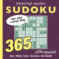 bokomslag Omåttligt mycket sudoku : för alla - varje dag