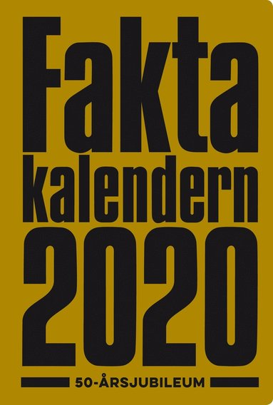 bokomslag Faktakalendern 2020