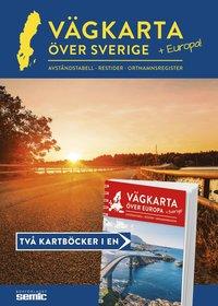 bokomslag Vägkarta över Sverige och Europa