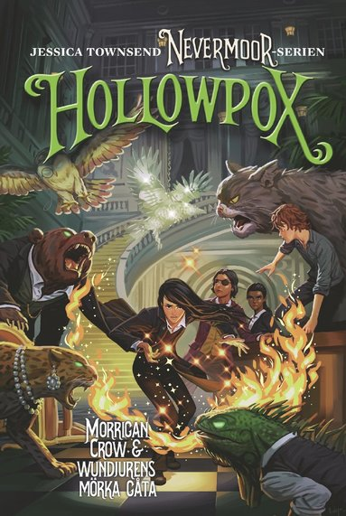 bokomslag Hollowpox : Morrigan Crow & wundjurens mörka gåta