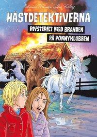 bokomslag Hästdetektiverna. Mysteriet med branden på ponnyklubben