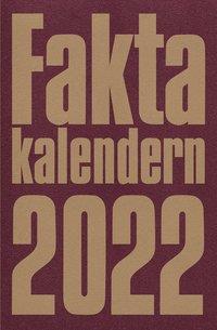 bokomslag Faktakalendern 2022