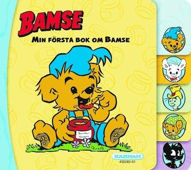 bokomslag Min första bok om Bamse