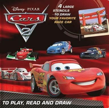 bokomslag Lek, läs och rita - Cars