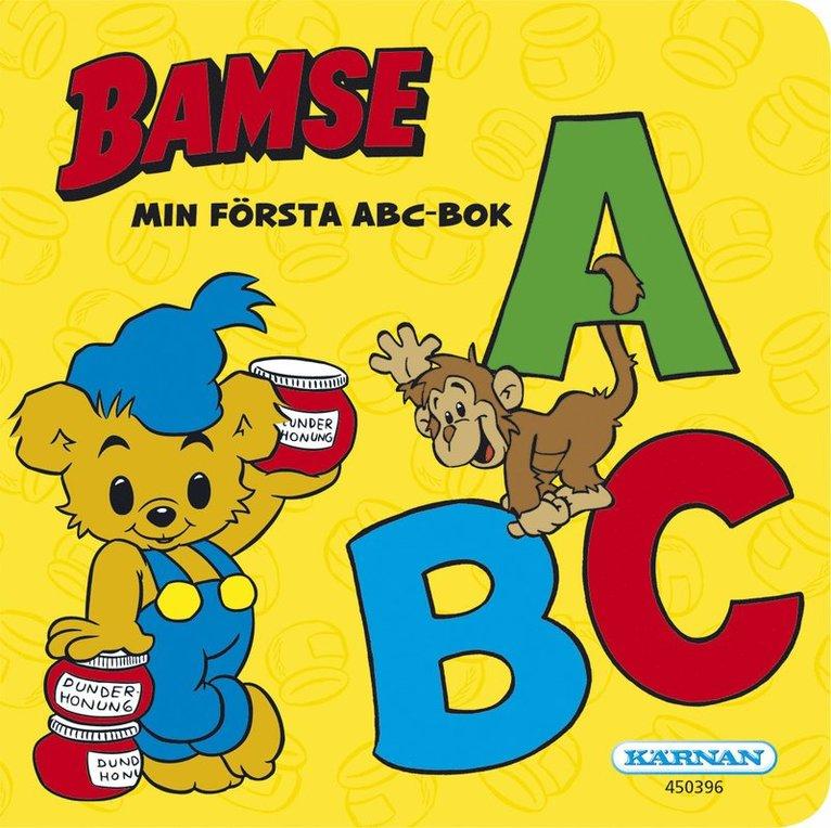 Bamse : Min första ABC-bok 1