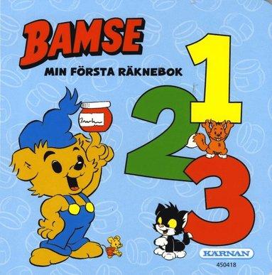 bokomslag Bamse : min första räknebok 1, 2, 3