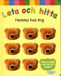bokomslag Leta och hitta: Hemma hos mig