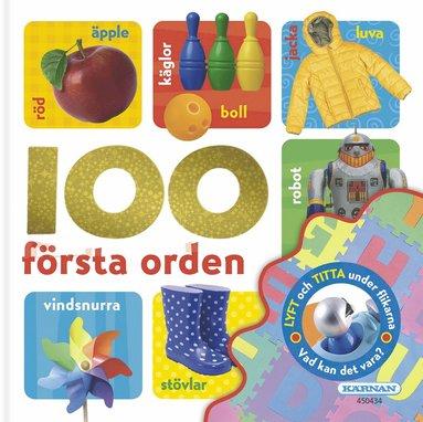 bokomslag 100 första orden