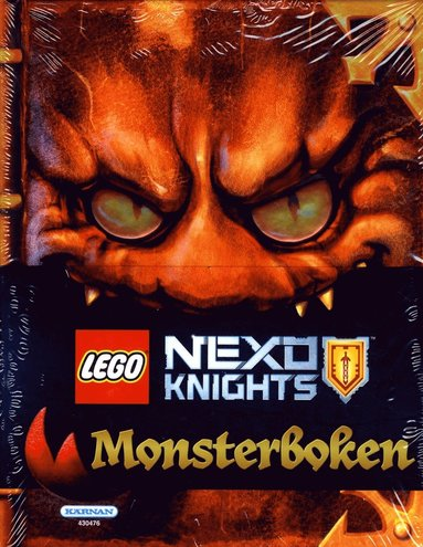 bokomslag LEGO Nexo knights. Monsterboken
