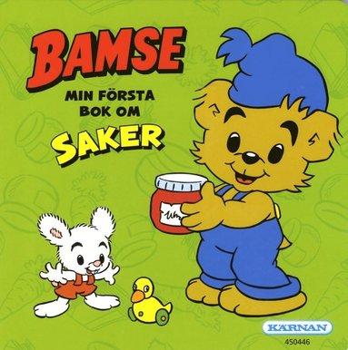 bokomslag Bamse Min första bok om saker