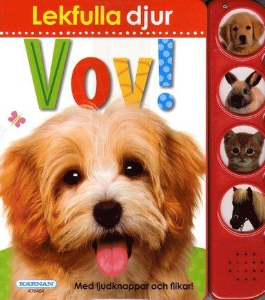 bokomslag Lekfulla djur Vov