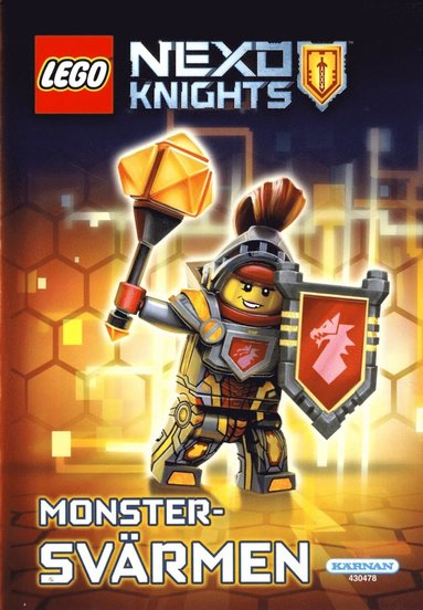 bokomslag LEGO Nexo Knights. Monstersvärmen