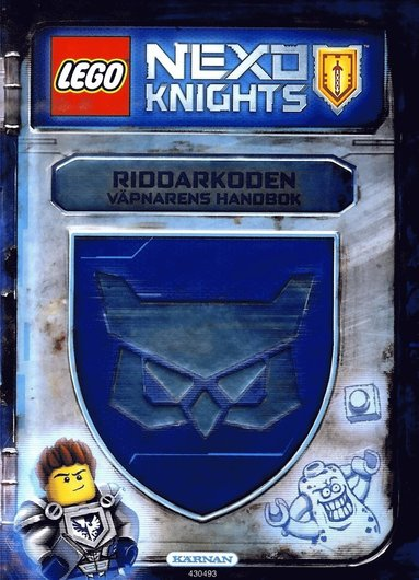 bokomslag LEGO Nexo Knights. Riddarkoden : väpnarens handbok