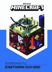 bokomslag Minecraft : guideboken till Nethern och End