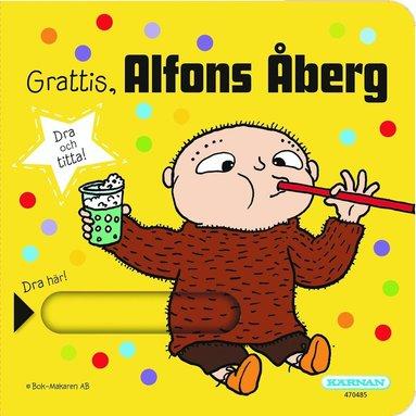 bokomslag Grattis, Alfons Åberg