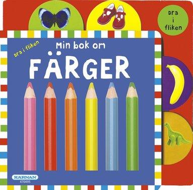 bokomslag Min bok om färger